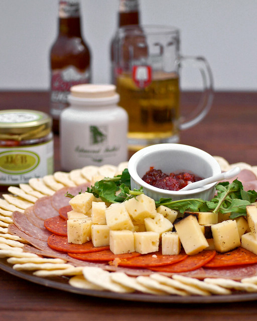 Gourmet Appetizer Meat & Cheese Tray | Flickr - Photo Sharing!