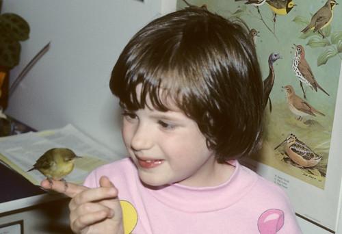 Katie and Orange-crowned Warbler