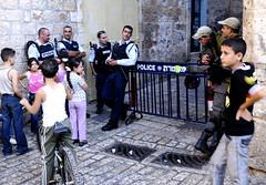 Down the Via Dolorosa in Jerusalem