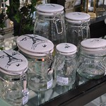 Miss Etoile Glass jars with ceramic lids