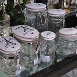 Miss Etoile Glass jars with ceramic lids