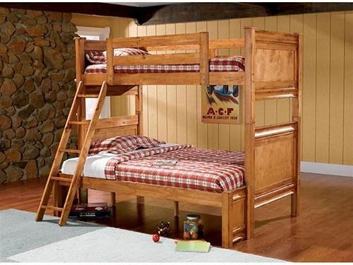 268 Oak bunk bed $678