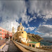 Panoramic Procida from the Piazza dei Martiri by gabrielescotto