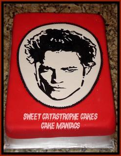 Edward Cullen Twilight Cake