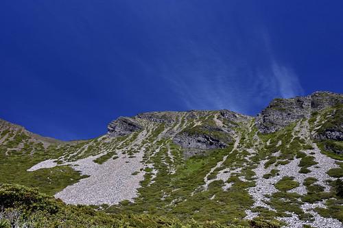 雪山雪東線-雪山圈谷-北稜角