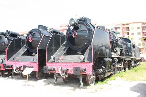 Locomotoras de Vapor - Museo Ferrocarril de Vilanova- Foto Fernand0 (Flickr)