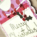 Merry Christmas Gift Card Holder {DETAIL}
