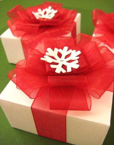 Gift Boxes and Ribbon Bows