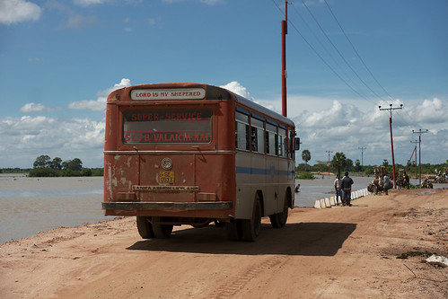 red bus geotagged flood lka monsoon creativecommons srilanka kiran northeastern springm markusspring bibble5