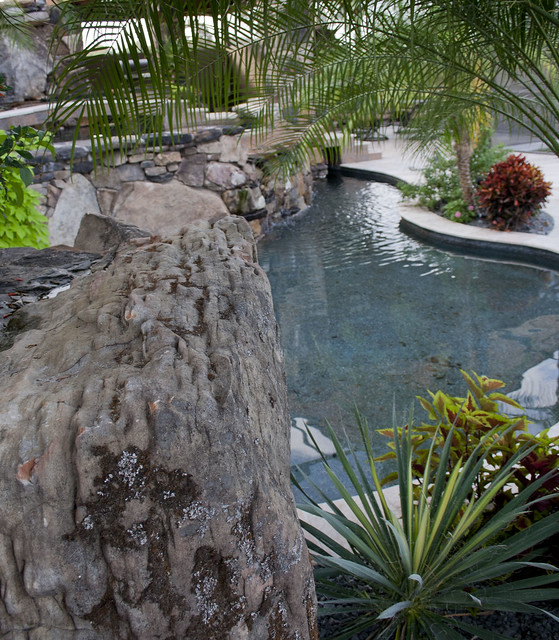 Hidden View From Landscaping By Swimming Pool Flickr Photo Sharing