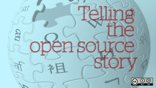 Telling the open source story - Part 1