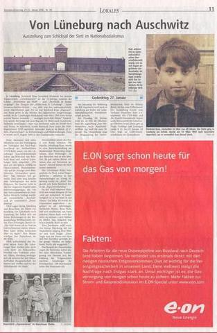Ich glaube e.on hat ab und zu nen unglueckliches Haendchen wenns um Werbung geht #eon #gas #auschwitz