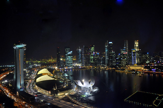 Night View from the Singapore Flyer