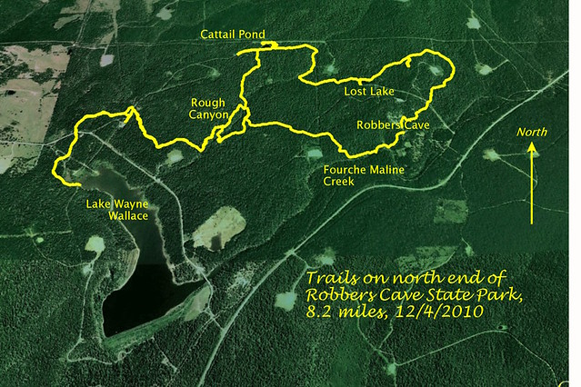 Robbers Cave Trail Map Flickr Photo Sharing