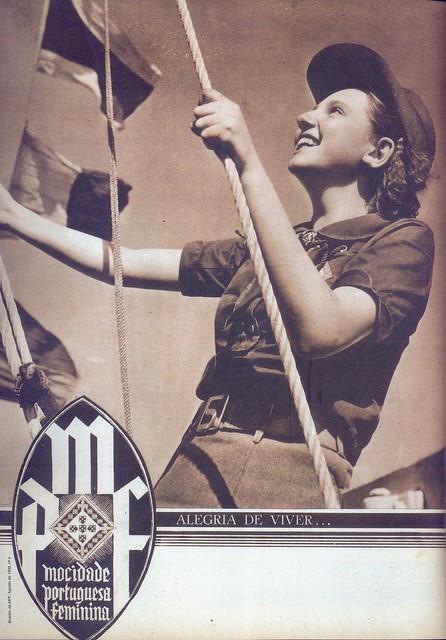 Mocidade Portuguesa Feminina, Nº 4, Agosto 1939 - capa