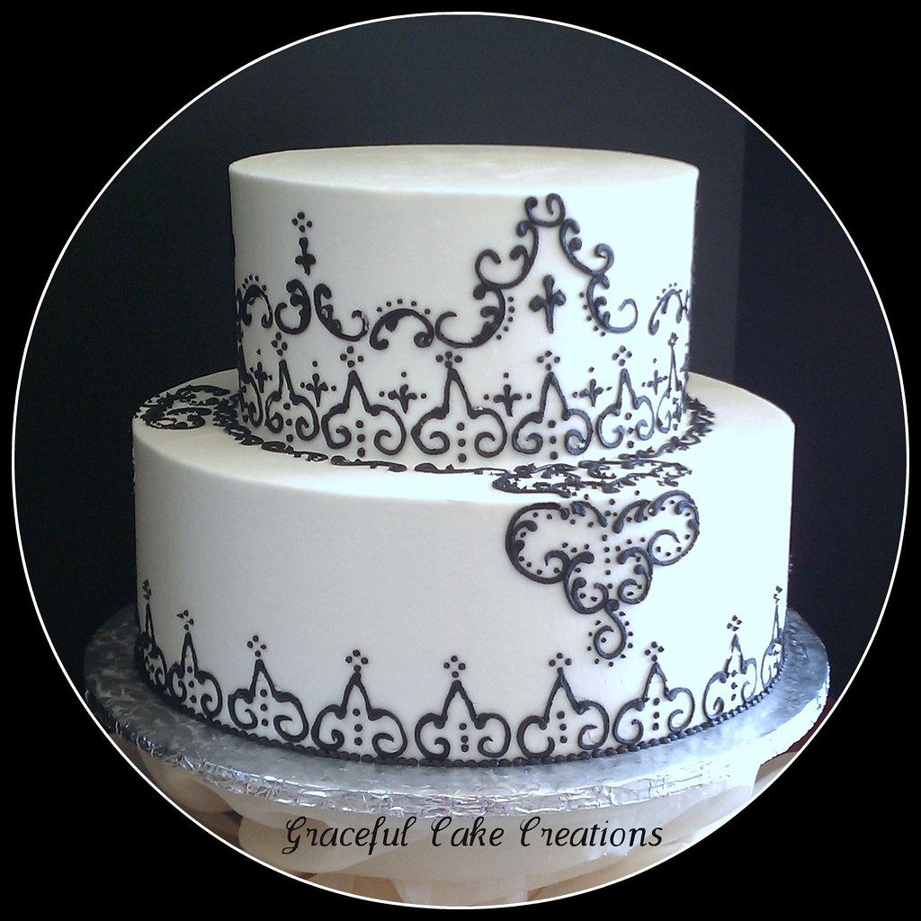 Henna Wedding Cake Buttercream