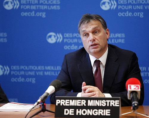 Viktor Orbán, Prime Minister of Hungary at the OECD