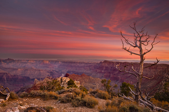 Arizona -- Grand Canyon Sunrise by Jeremy Wilburn, on Flickr