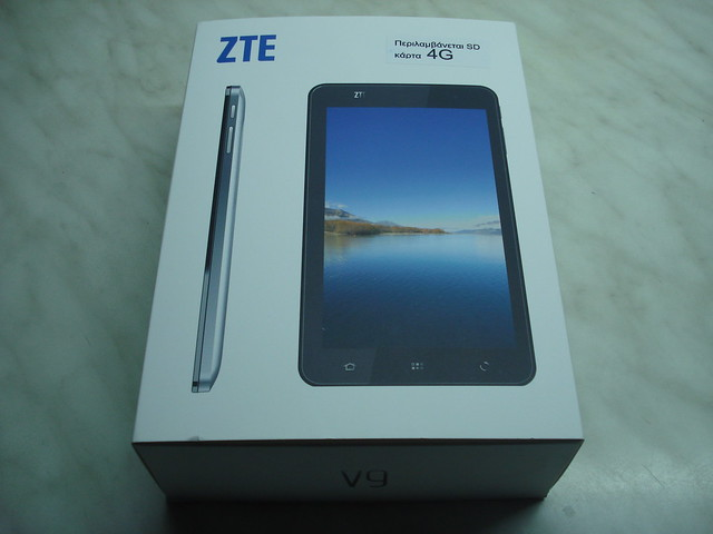 this tablet zte v9 duo will