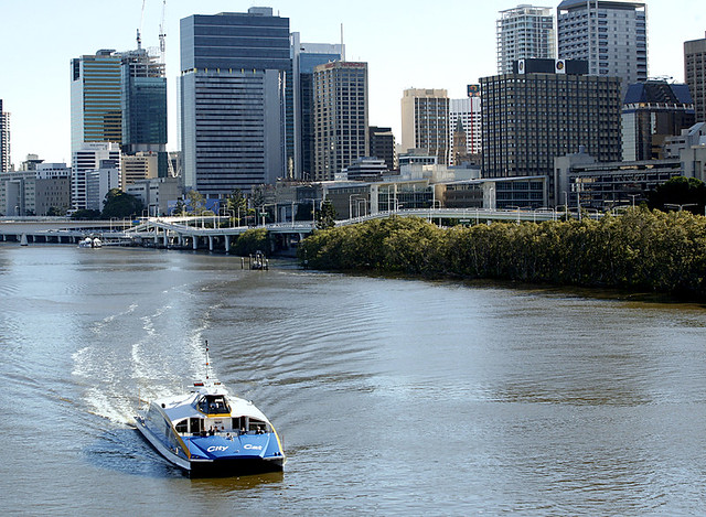 CityCat on the Brisbane River