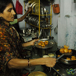 Frying Up the Pakoras - Cooking Class in Udaipur, India