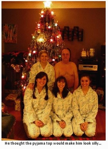 Just for laughs, awkward christmas photos