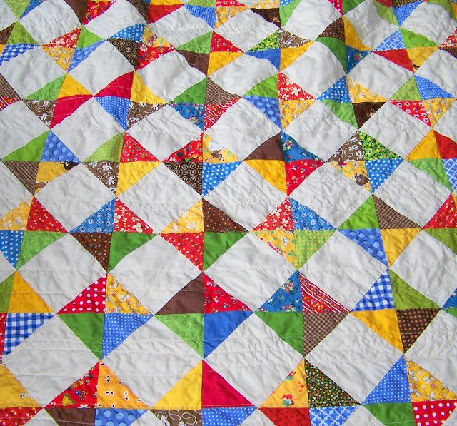Quilt Patterns Quarter Square Triangles : Flickr