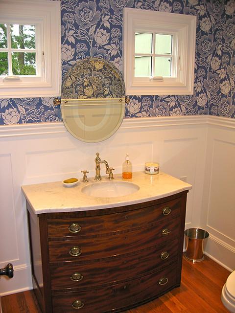 wainscoting panel shaker panel bathroom stamford ct