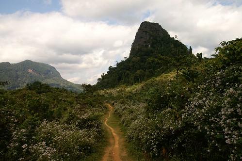 village laos lao