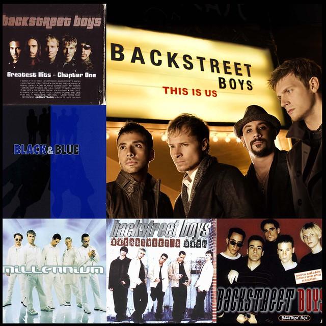 Me encargaron cosas de Backstreet Boys!!!!!