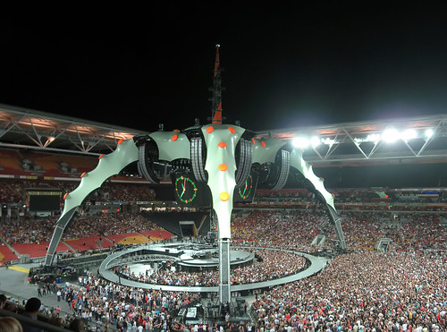 pano01 - U2 360 live at Suncorp Stadium