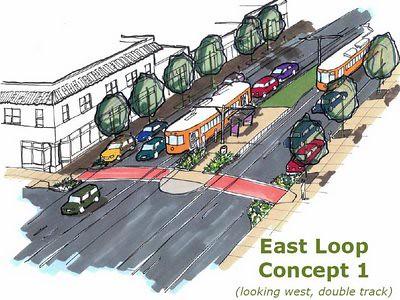 Loop east track1a