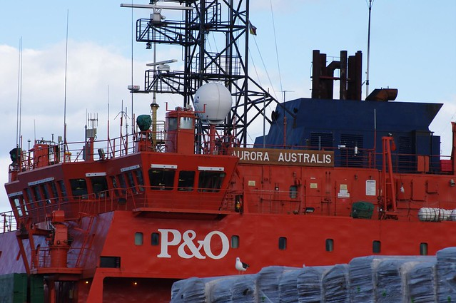 Aurora Australis - P&O Icebreaker used by Australia for Research in Antarctica