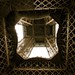 Eiffel from underneath, looking up by sarahlane