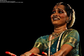 Ms. Priya Raman performing Bharatanatyam