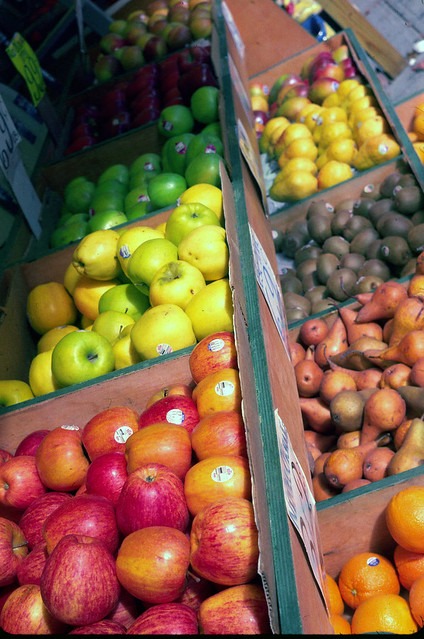 Fruit Stand Kodachrome 64 - 2010