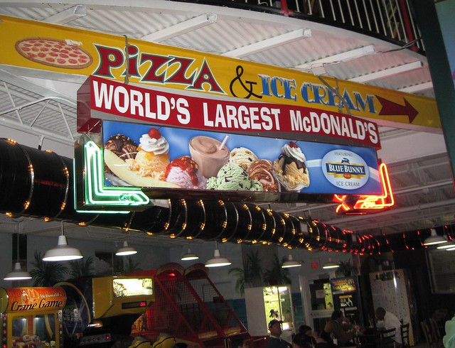 World's Largest Mcdonald's Orlando Florida – Is This Really Necessary?