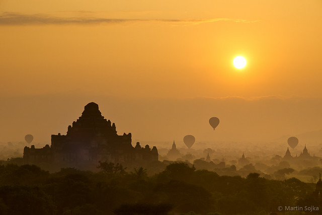 Sunrise over Bagan ~ Myanmar (Burma)