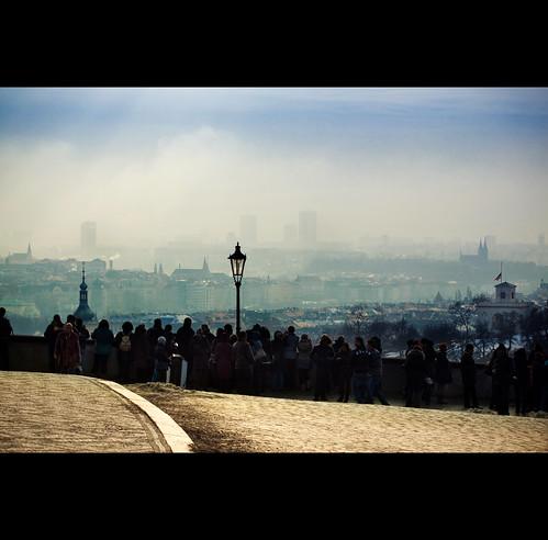 city people europe cityscape prague january praha cz csehország városkép orbandomonkoshu