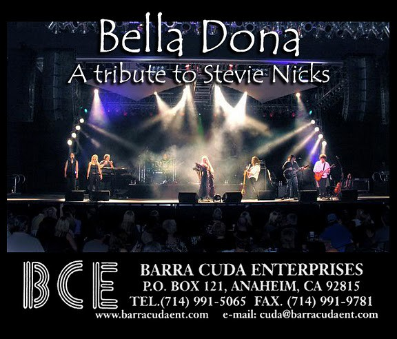 Fleetwood Mac Tribute Band - Bella Donna | Barra Cuda Enterp