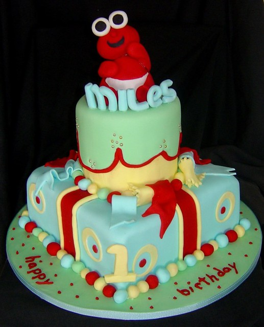 baby elmo 1st birthday