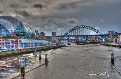 The Sage and Tyne Bridge