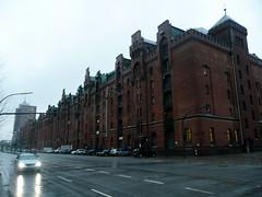Warehouses in Speicherstadt
