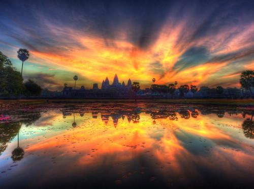 cambodia angkorwat ankorwat angkorwatsunrise colorphotoaward cambodiasunrise sunriseangkorwat ankorwatsunrise sunriseatangkorwat tripleniceshot cloudsstormssunsetssunrises cambodiareflection angkorwatsunrisecambodia cambodiaangkorwatsunrise