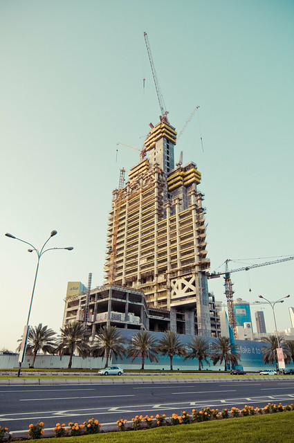 Dubai Towers Doha Construction Site