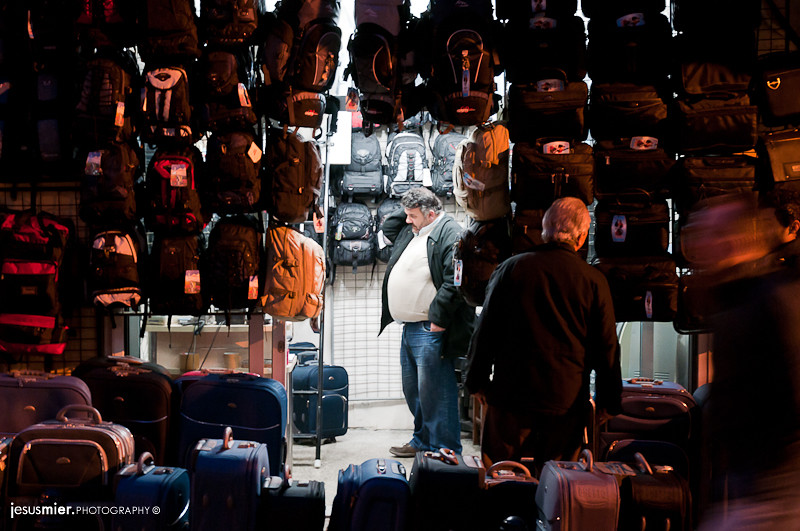 Entre mochilas Estambul