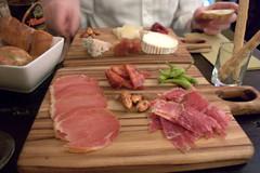 palo cortado meats & cheeses