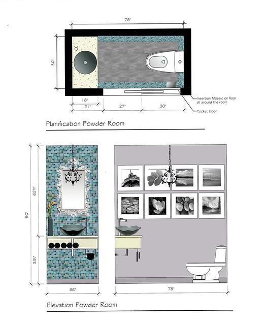 Petite salle d 39 eau chic et moderne flickr photo sharing - Petite salle d eau design ...