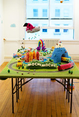 """Greetings from Mochimochi"" installation"