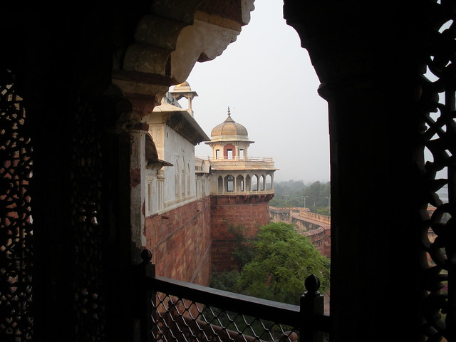 Header of Agra Fort